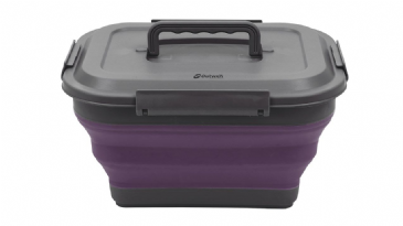 Outwell Collaps Collapsible Storage Box M Plum